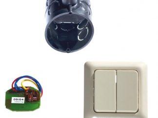 Sommer 2-Befehl Funkinnentaster mit Unterputzdose und Taster 4753V000 - Adams Tore & Antriebe - Sommer, Wisniowski, Hörmann Vertragshändler