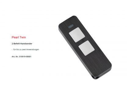 Sommer 2-Befehl Handsender Pearl Twin S10019-00001 - Adams Tore & Antriebe - Sommer, Wisniowski, Hörmann Vertragshändler