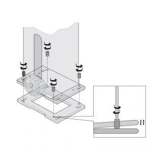 Sommer Nivellierplatte im Set 14038V000 - Adams Tore & Antriebe - Sommer, Wisniowski, Hörmann Vertragshändler