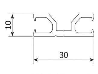 Sommer Aluminium-Profil 5131V000 - Adams Tore & Antriebe - Sommer, Wisniowski, Hörmann Vertragshändler