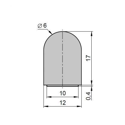 Sommer Kantenschutzprofil S10332-00001 - Adams Tore & Antriebe - Sommer, Wisniowski, Hörmann Vertragshändler