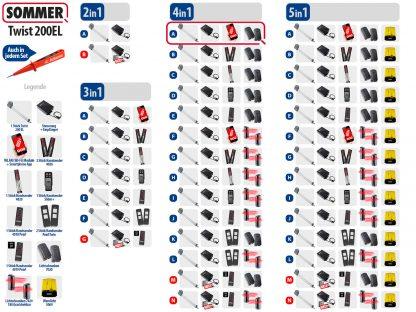 Sommer Twist 200el Drehtorantrieb 1-flüglig Set 4in1A - Adams Tore & Antriebe - Sommer, Wisniowski, Hörmann Vertragshändler