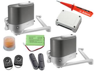 Somfy Axovia MultiPro 3S io Drehtorantrieb 2-flüglig Set Comfort Pack 1216500 - Adams Tore & Antriebe - Sommer, Wisniowski, Hörmann Vertragshändler