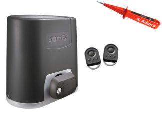 Somfy Elixo 800 230V RTS Schiebetorantrieb Set Standard Pack 1216454 - Adams Tore & Antriebe - Sommer, Wisniowski, Hörmann Vertragshändler