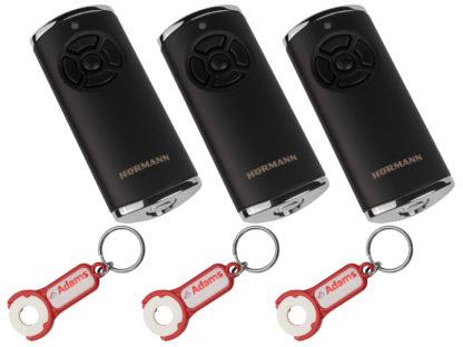 3x Hörmann HS5 BS Schwarz Matt 5-Befehl Handsender BiSecur 868 Mhz 436948 - Adams Tore & Antriebe - Sommer, Wisniowski, Hörmann Vertragshändler