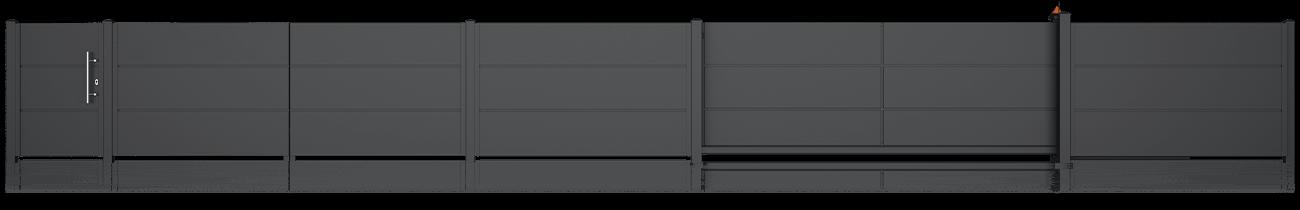 Wisniowski Pforte Muster HOME INCLUSIVE AW.10.200 Paneel 500mm - Adams Tore & Antriebe - Sommer, Wisniowski, Hörmann Vertragshändler