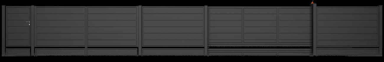 Wisniowski Zaunfelder Muster HOME INCLUSIVE AW.10.228 ohne Abstand - Adams Tore & Antriebe - Sommer, Wisniowski, Hörmann Vertragshändler