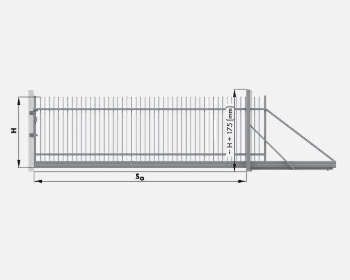 Wiśniowski Schiebetor Muster HOME INCLUSIVE AW.10.200 Paneel 250mm - Adams Tore & Antriebe - Sommer, Wisniowski, Hörmann Vertragshändler