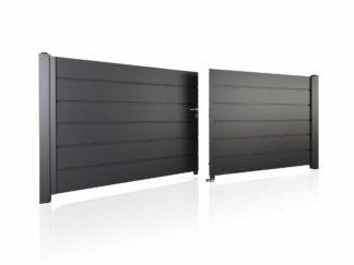 Wisniowski Zweiflügeltor Muster HOME INCLUSIVE AW.10.200 Paneel 250mm - Adams Tore & Antriebe - Sommer, Wisniowski, Hörmann Vertragshändler