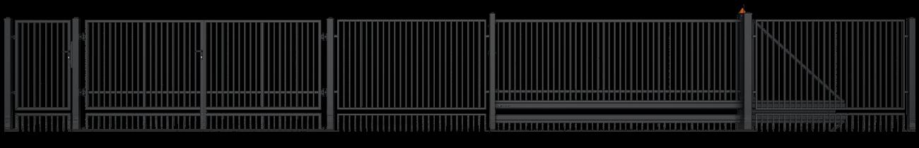 Wisniowski Schiebetor Muster CLASSIC AW.10.71/P - Adams Tore & Antriebe - Sommer, Wisniowski, Hörmann Vertragshändler