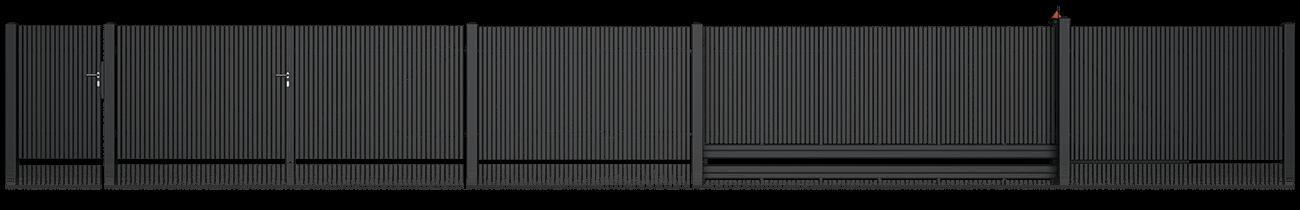 Wisniowski Zweiflügeltor Muster CLASSIC AW.10.76/P - Adams Tore & Antriebe - Sommer, Wisniowski, Hörmann Vertragshändler