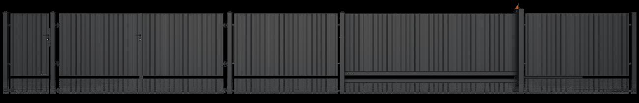 Wisniowski Zweiflügeltor Muster CLASSIC AW.10.TT/P - Adams Tore & Antriebe - Sommer, Wisniowski, Hörmann Vertragshändler