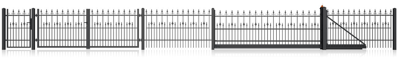 Wisniowski Zaunfelder Muster LUX AW.10.33/P - Adams Tore & Antriebe - Sommer, Wisniowski, Hörmann Vertragshändler