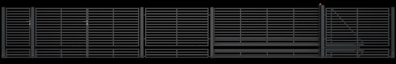 Wisniowski Zweiflügeltor Muster MODERN AW.10.105/P - Adams Tore & Antriebe - Sommer, Wisniowski, Hörmann Vertragshändler