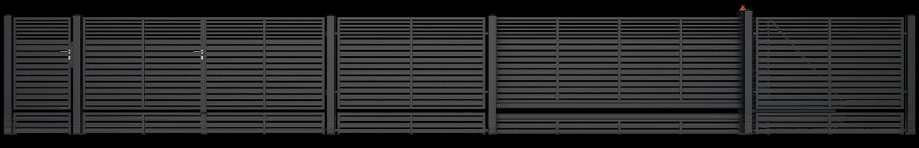 Wisniowski Zweiflügeltor Muster MODERN AW.10.106/P - Adams Tore & Antriebe - Sommer, Wisniowski, Hörmann Vertragshändler