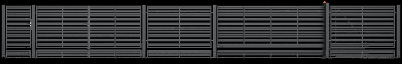 Wisniowski Zweiflügeltor Muster MODERN AW.10.107/P - Adams Tore & Antriebe - Sommer, Wisniowski, Hörmann Vertragshändler