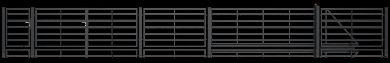 Wisniowski Zweiflügeltor Muster MODERN AW.10.114/P - Adams Tore & Antriebe - Sommer, Wisniowski, Hörmann Vertragshändler