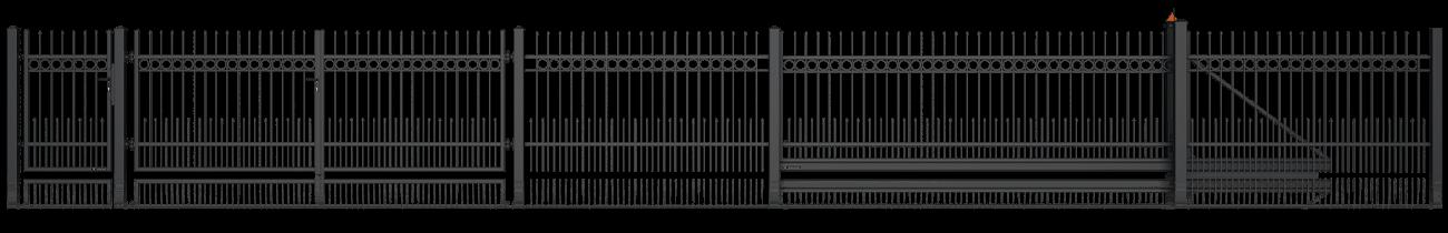 Wisniowski Schiebetor Muster STYLE AW.10.12/P - Adams Tore & Antriebe - Sommer, Wisniowski, Hörmann Vertragshändler