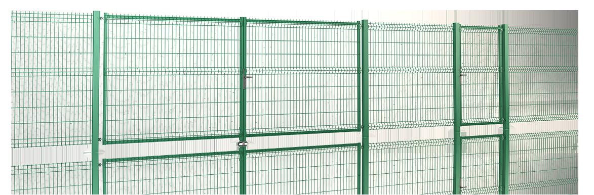 Wisniowski Zaunfelder Gittermatte VEGA B Light Paneelbreite 2500 mm - Adams Tore & Antriebe - Sommer, Wisniowski, Hörmann Vertragshändler